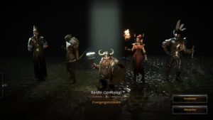 Charakterauswahl in Warhammer: End Times - Vermintide