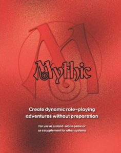 Mythic Adventure Generator Role Playing System
