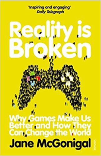 book cover reality is broken