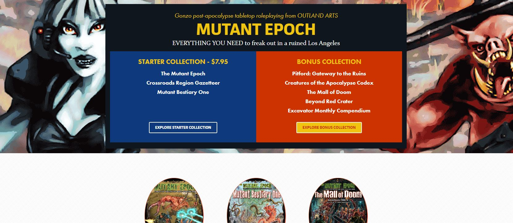 Mutant Epoch auf Bundle of Holding